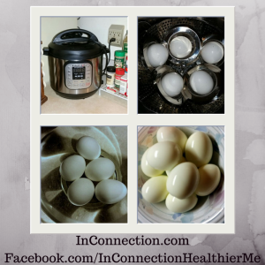 Making hard-boiled eggs in my Instant Pot pressure cooker was so easy!